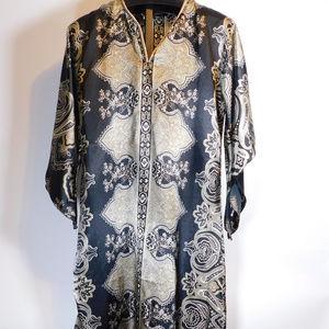 Ashro Women's Kimono Robe OS CL2458 1119
